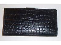 Osprey Crocodile Skin Effect Ladies Wallet