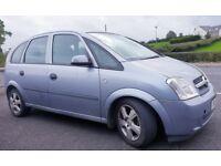 Vauxhall/Opel Meriva 1.6 Petrol 2005MY