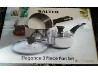 Brand new salter pan set