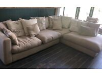 IMMACULATE DFS CORNER SOFA - £500 - ONLY ONE YEAR OLD