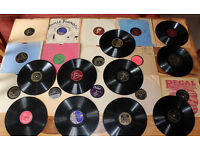 JOB LOT OF 25 RECORDS (78s) Shellac