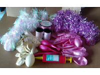 Balloons, Weights and Ribbon Wedding / Party £15