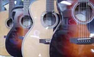 Promotion guitares acoustiques Sigma en magasin!!!