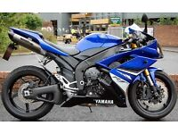 2008 - 58 YAMAHA YZF-R1 BLUE R1 LOW MILES IMMACULATE CONDITION