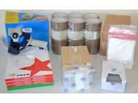 Job Lot - New Packing Tape Dispensers, Packaging Tape, Poly Bags, Address Pouches & Laser Labels