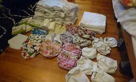 Reusable nappies birth till potty