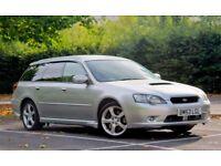 Subaru Legacy GT, Japanese import 265BHP 2.0l twinscroll turbo, all-wheel drive