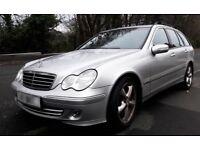 Mercedes C220 CDI Avantgarde SE Estate - Spares or Repair - MOT until Nov 18.