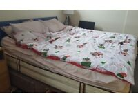 SuperKing Size Divan Bed Frame and Headboard FREE