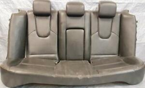SEATS - REAR UPPER + LOWER + SIDE SEAT ASSEMBLY CUSHION with ARM REST - BLACK LEATHER for 2010 to 2012 FORD FUSION $300