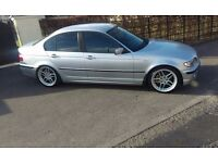 2004 BMW e46 320d ** ONLY 124K MILES ** VERY CLEAN CAR. not 330 520 530 leon a4 golf bora