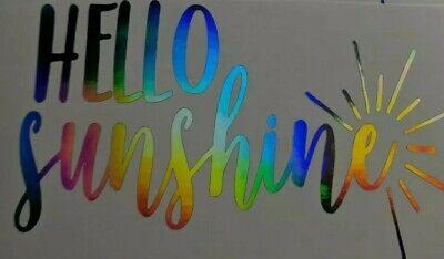 Rainbow Holographic