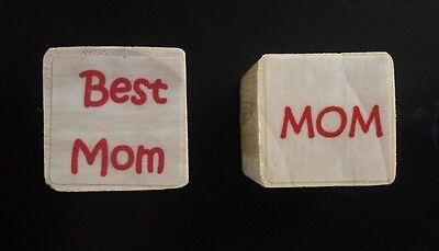 Mothers Day Rubber Stamps, New, Best