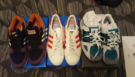 Adidas Shoes Size 9 US new and used Has to go!