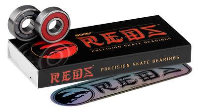 Genuine Bones Reds Scooter Bearings - Pack of 8  + Free Sticker