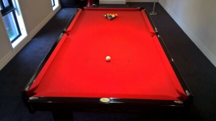 Snooker Table 8ftx 4ft & Accessories Minchinbury Blacktown Area Preview