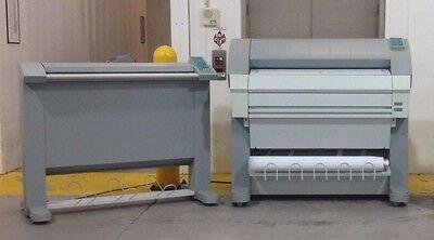 OCE TDS 400 Wide Format Printer Scanner Plotter Blue Print