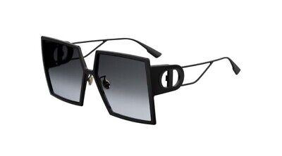 Christian Dior 30Montaigne 807/1L Black Grey Lens Women Sunglasses Oversize (Dior Woman)