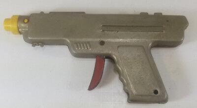 Wyandotte Toys Silver  Repeater Water Pistol Rare Silver 1940's