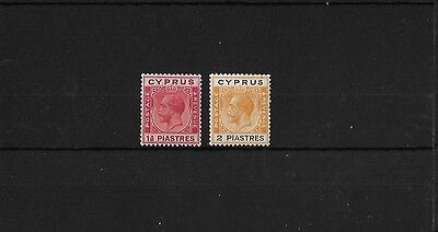 CYPRUS SG120/21 LIGHTLY MOUNTED MINT, CAT £24