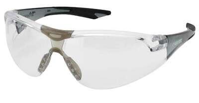 Elvex Delta Plus Avion Slim Fit Kids Safetyshooting Glasses Clear Lensblack