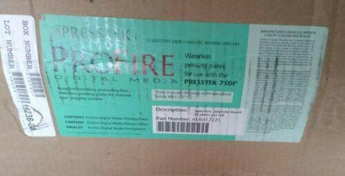Presstek Profire Waterless Digital Printing Plate Rolls