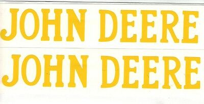 3 Hp John Deere Gas Engine Motor 2 Piece Decal Set Hit Miss Flywheel Antique
