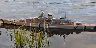 RC Modell Schlachtschiff Scharnhorst 1:100