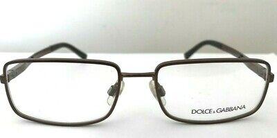 Dolce & Gabbana BROWN BRONZE Mens Women Glasses Spectacles Optical Frames DG1154