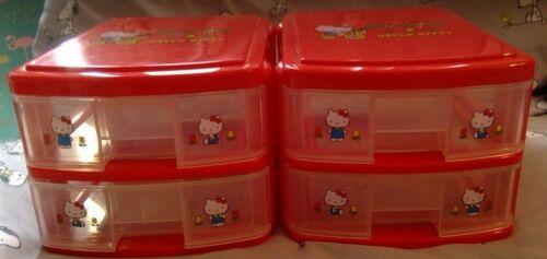 Sanrio Hello Kitty 2 Drawer Chest Set of 2