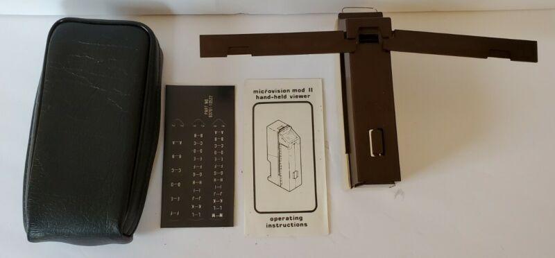 Northwest Microfilm Microfiche Microform Microvision Mod II Handheld Viewer