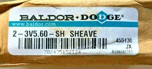 Baldor DODGE 2-3V5.60-SH SHEAVE (455136) Free Expedited Shipping!