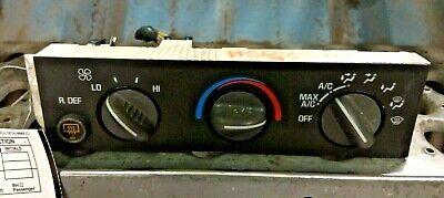 CHEVY EXPRESS 3500 VAN OEM Heat/AC Controller Main Control Climate Control