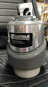 Kenmore 3/4 hp Food Waste Disposer Model #50133
