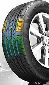 NEW 205 55 R16 $105 ($474 Tax in 4 Tire) Installed Balance Kumho TA31 Zracing 9056732828 ( Made in Korea Made in 2017 )