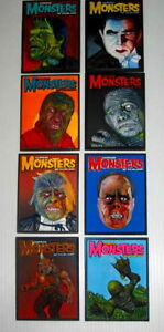 Famous monsters of filmland resin relief plaque set