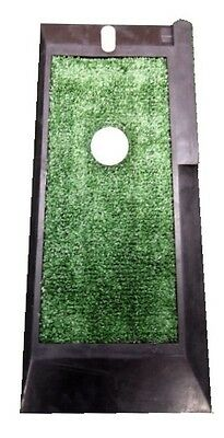 """Golf  Practice Mat - astro turf - chip/drive mat  - rubber mat with tee """"NEW"""""""