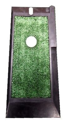 Golf Practice Mat - astro turf - chip & drive mat  - rubber mat with range tee
