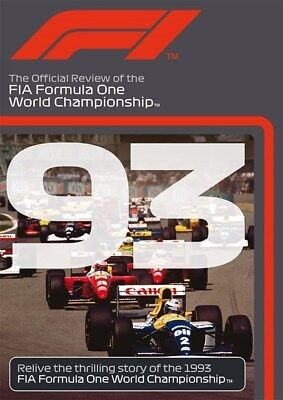 FORMULA ONE 1993 - F1 Season Review - ALAIN PROST - Grand Prix 1 - Reg Free DVD