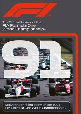 FORMULA ONE 1991 - F1 Season Review - AYRTON SENNA Grand Prix 1 - Reg Free DVD
