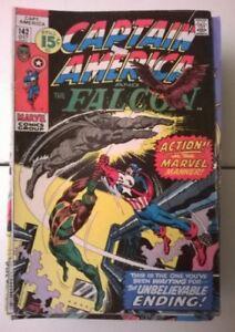 63 Assorted Comic Books - Capt America, Spiderman, X-men + More!