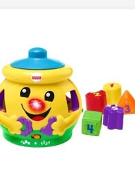 Fisher price cookie jar (boxed, brand new)