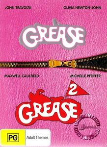 GREASE 1 - 2: PINK LADIES COLLECTION : NEW DVD