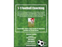 1 on 1 Football coaching to take your game to the next level! Join the KAFE SPORTS team!