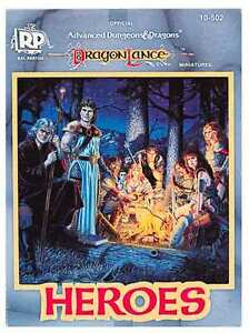 Official Dungeons & Dragons AD&D Dragonlance HEROES 10-502