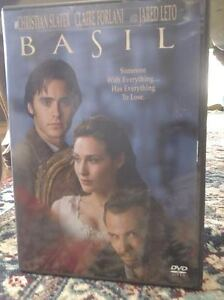 DVD  BASIL  with Jared Leto  love triangle hate and love