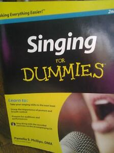 BOOK SINGING FOR DUMMIES - TRY IT