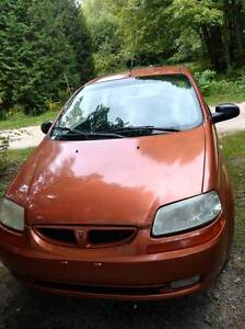 2006 Pontiac Wave Hatchback