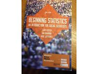 Beginning Statistics 2nd ed. [an introduction for social scientists] by Liam Foster