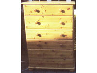 2x Chest of Drawers [Collection Only]